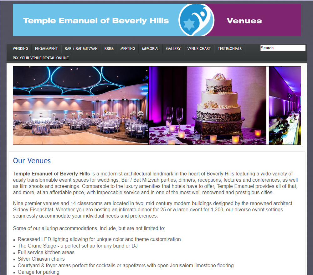 Temple Emanuel Beverly Hills